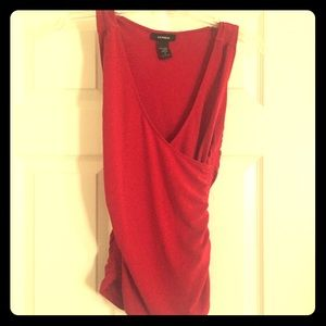 Express top red small